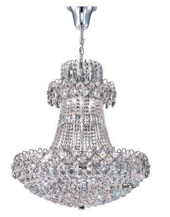 大型水晶吊燈