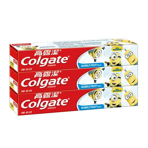 Colgate高露潔小小兵兒童牙膏(凝露)40gX3支入【德芳保健藥妝】