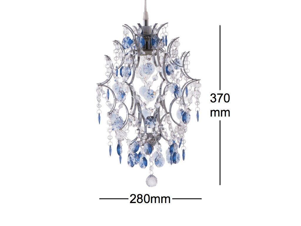 優雅鍍鉻架壓克力珠吊燈-BNL00044 8