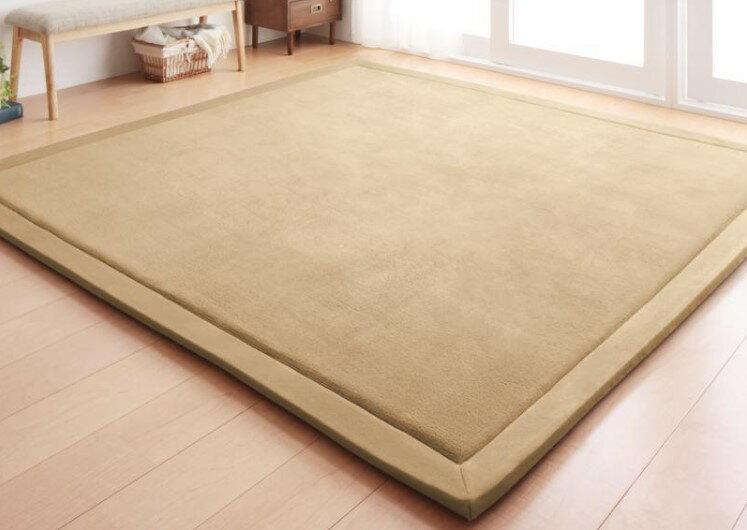 出口日本等級 日本原單 130*190CM 高級纖細珊瑚絨地毯 /  爬行墊 /  遊戲墊 /  榻榻米墊 /  運動墊 /  瑜珈墊 /  地墊 (如需其他尺寸也能訂做) 2
