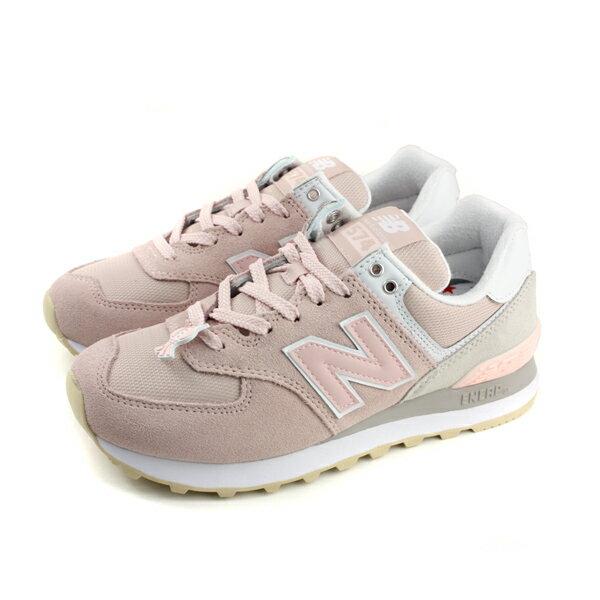 NEW BALANCE 574系列 运动鞋 复古鞋 粉红色 女鞋 窄楦 WL574TAC-B no482