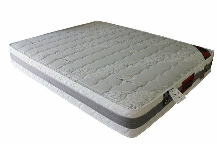 【尚品傢俱】651-10 布雷克 蘆薈5尺硬式獨立筒床墊(另有3.5、6、6*7尺)/床墊/Mattress