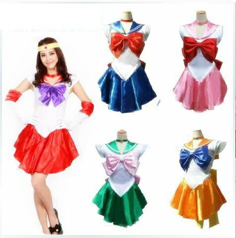 萬聖節動漫服裝halloween美少女戰士月野兔Sailor Moon cosplay