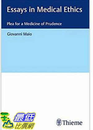 [106美國直購] Essays in Medical Ethics: Plea for a Medicine of Prudence