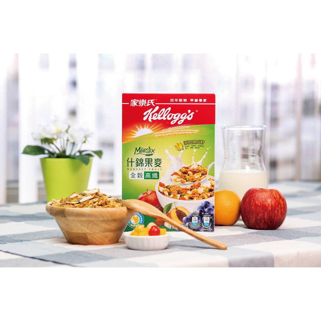 家樂氏什錦果麥-南瓜籽、葡萄、蘋果、桃、杏仁果口味 375g 1
