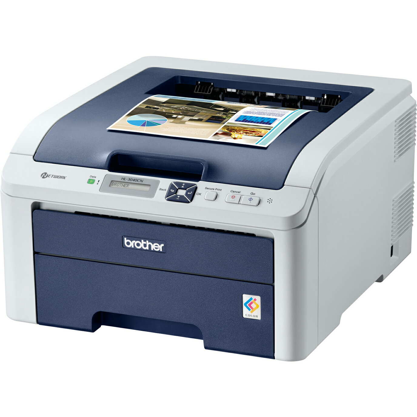 Brother HL-3040CN Digital Color Printer with Networking 2