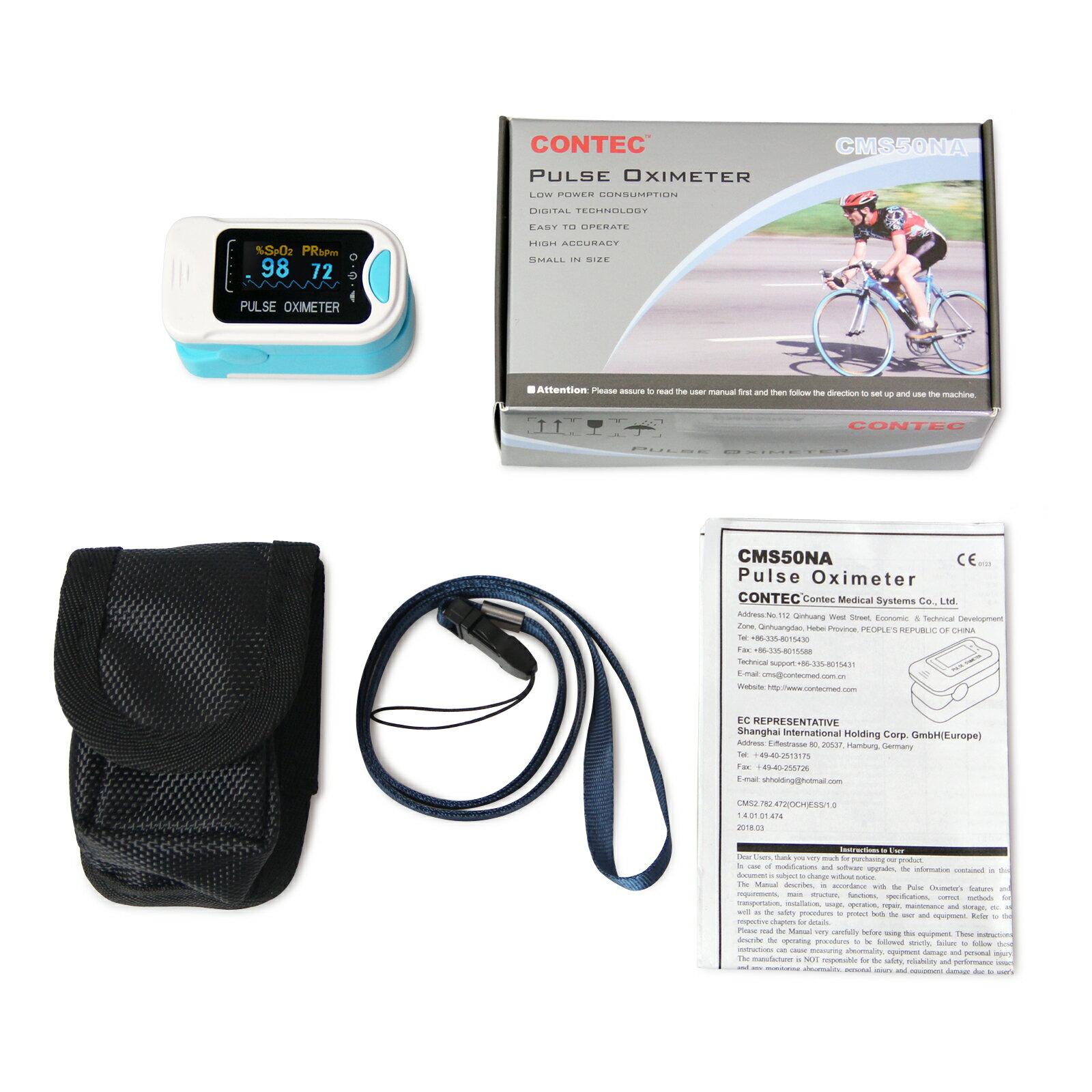 CMS50NA OLED FDA CONTEC Finger tip Pulse Oximeter Blood Oxygen meter SpO2  Heart Rate Monitor