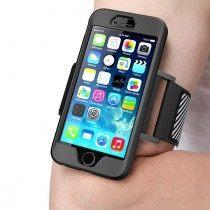 【美國代購】SUPCASE Armband Case 可拆式 運動臂套 手機殼 保護殼-iPhone 6/6S Plus 5.5吋專用(黑色)
