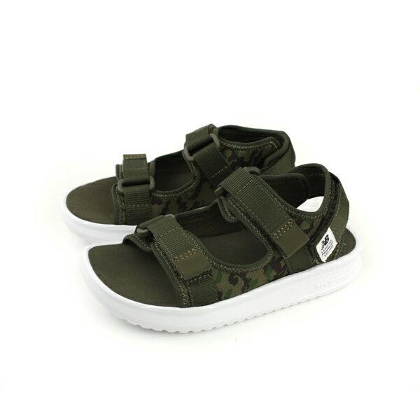 NewBalance涼鞋軍綠色迷彩童鞋KS750KY-Wno423
