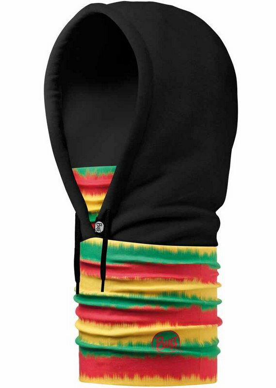 Buff 保暖連帽頭巾 Hoodie BUFF 帽T/毛帽/圍巾/口罩/滑雪/旅遊 108997 黃綠紅