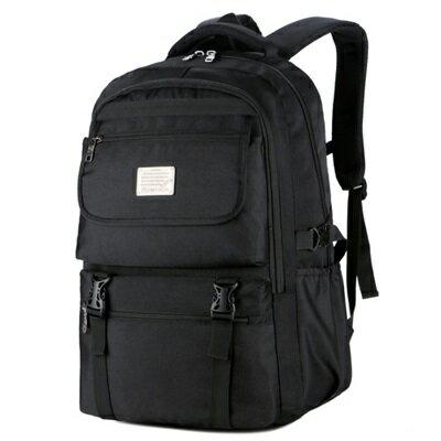 後背包純色電腦包-旅行大容量防刮耐磨男雙肩包2色73ru35【獨家進口】【米蘭精品】