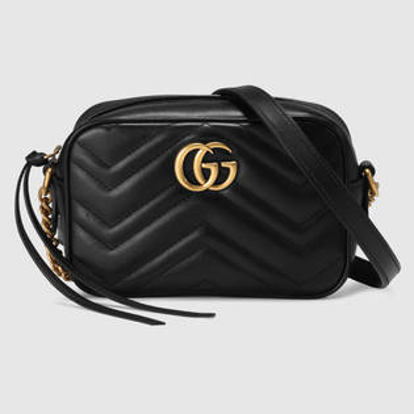 【Gucci】GUCCIGGMarmont系列447632DTD1D1000【全店免運】ARIBOBO艾莉波波
