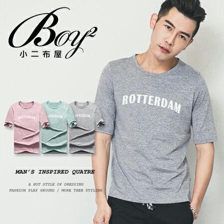 ☆BOY-2☆【OE50203】美式男裝ROTTERDAM五分袖短袖T桖 0