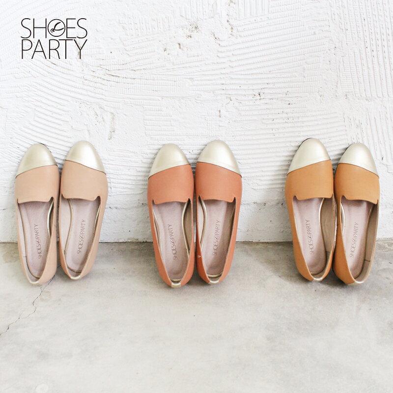 【 C2-17203L 】真皮拼接歐貝拉_Shoes Party 0