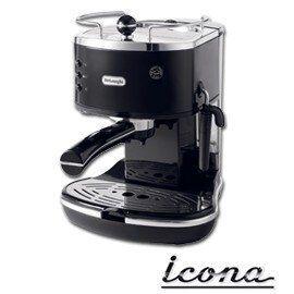 ~✬啡苑雅號✬~迪朗奇 Delonghi Icona系列義式濃縮咖啡機 ECO310.B/ BK 瑪瑙黑