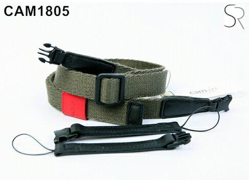 Canon Mall:【Cam.in】潮流相機背帶型號:CAM1805可調式細繩顏色:橄欖綠