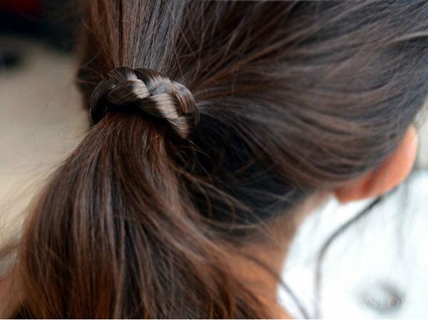 韓版辮子造型假髮髮束【20291】