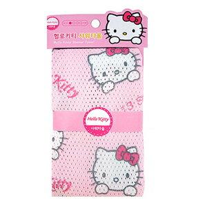 X射線【C064251】Hello Kitty 澡巾30x95cm,澡巾/去角質巾/美容巾/沐浴巾/洗澡巾