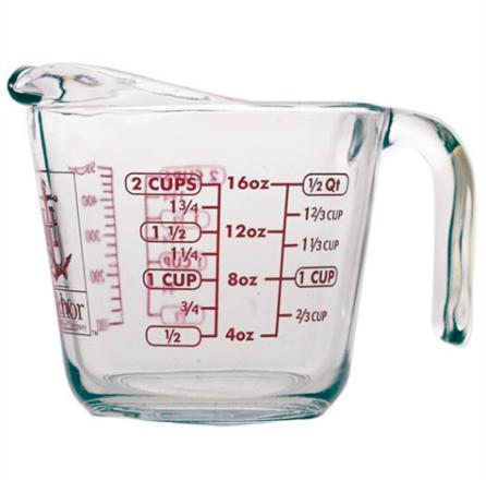 美國製 anchor安佳強化玻璃量杯 可微波進烤箱 烘培 批發團購 商業可用 家用 廚房餐具