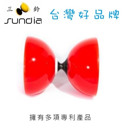 SUNDIA 三鈴 長軸培鈴系列 Fly.1B.R 飛漾紅 / 個
