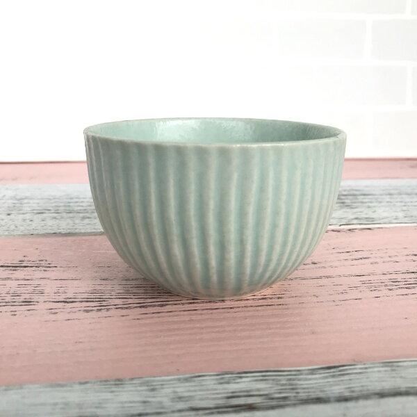 Alice餐廚好物:|絕版特賣|日本製淺綠復刻紋路湯吞|湯碗小碗|日本空運|現貨|