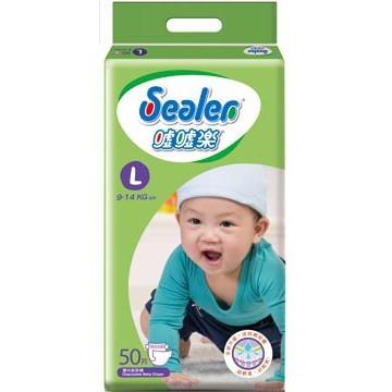 噓噓樂Sealer 透氣棉柔 L50片 包 一箱六包