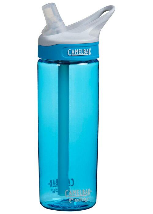 【鄉野情戶外用品店】 Camelbak |美國| 運動吸管水瓶《水滴藍》/CB53635 【容量600ml】