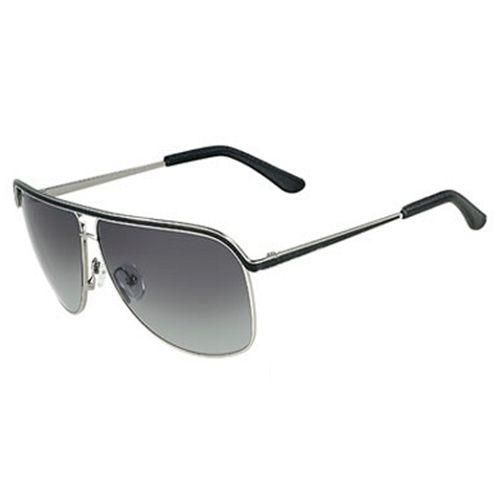 Ferragamo雙色閃亮金屬框太陽眼鏡SF112SL