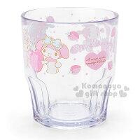 美樂蒂My Melody周邊商品推薦到〔小禮堂〕美樂蒂 日製透明塑膠杯《草莓.小綿羊》容量300ml
