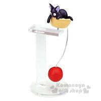 魔女宅急便周邊商品推薦〔小禮堂〕宮崎駿 魔女宅急便Kiki 平衡玩具《黑貓.紅毛線球.趴姿》