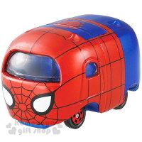 漫威英雄Marvel 周邊商品推薦〔小禮堂〕MARVEL 蜘蛛人 TOMICA小汽車《紅藍.大臉》經典造型值得收藏