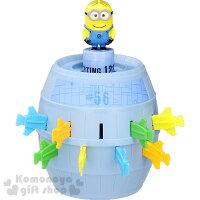 〔小禮堂〕小小兵 危機一發玩具《藍桶.滿版小小兵.盒裝》