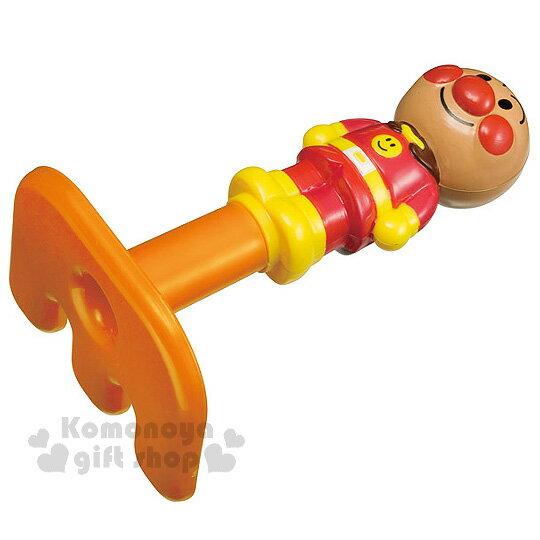 〔小禮堂〕麵包超人 挖沙鈀玩具《S.橘.站姿》單支沙鈀
