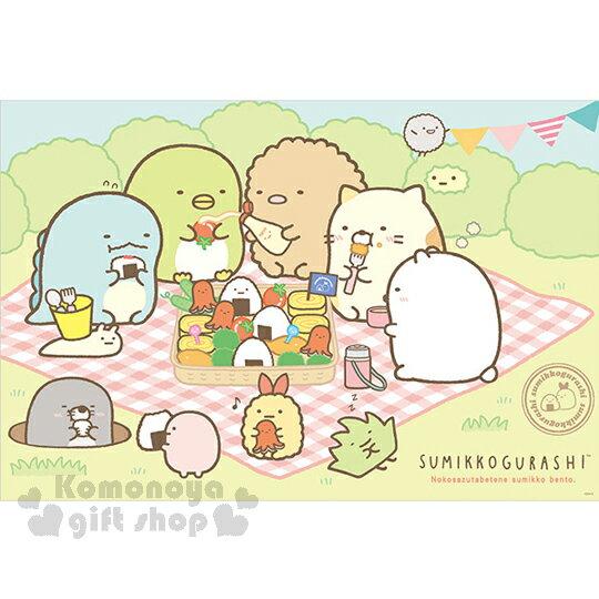 〔小禮堂〕角落生物 野餐墊《S.綠.野餐.多角色》單人用尺寸90x60cm