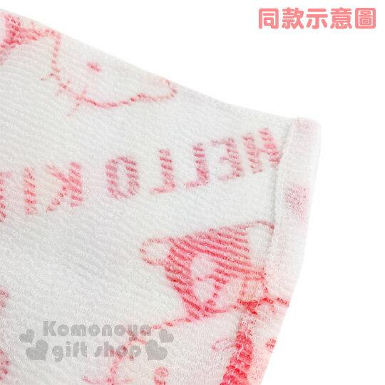 〔小禮堂〕Hello Kitty 身體沐浴巾《白粉.蝴蝶結.側坐.滿版.30x100cm》 3