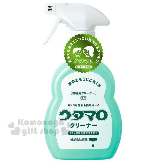 〔小禮堂〕東邦 萬用清潔劑《綠.400ml.噴頭式》貼心提醒式鎖頭 廚房浴室一瓶搞定