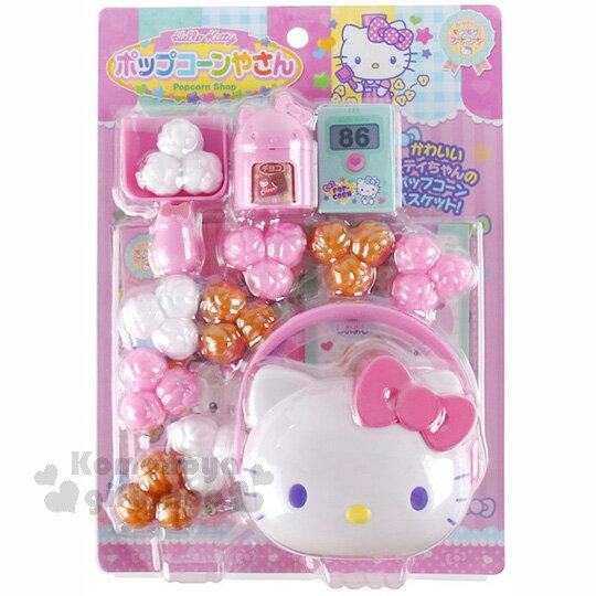 〔小禮堂〕Hello Kitty 零食玩具組《多款.粉.白.咖.大臉盒.》內附替換玩具