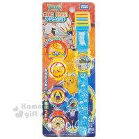 兒童錶推薦到〔小禮堂〕神奇寶貝Pokémon 皮卡丘  兒童電子錶《藍黃.多角色.白色素描錶帶》附3款替換外蓋就在小禮堂-樂天旗艦店推薦兒童錶