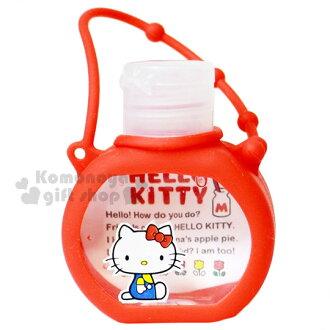 〔小禮堂〕Hello Kitty 乾洗手凝露《紅.側坐.鬱金香.37ml》