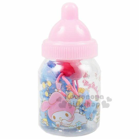 〔小禮堂〕美樂蒂 造型彈力髮束《粉藍.蝴蝶.刺蝟.老鼠.奶瓶罐裝》髮圈.髮飾