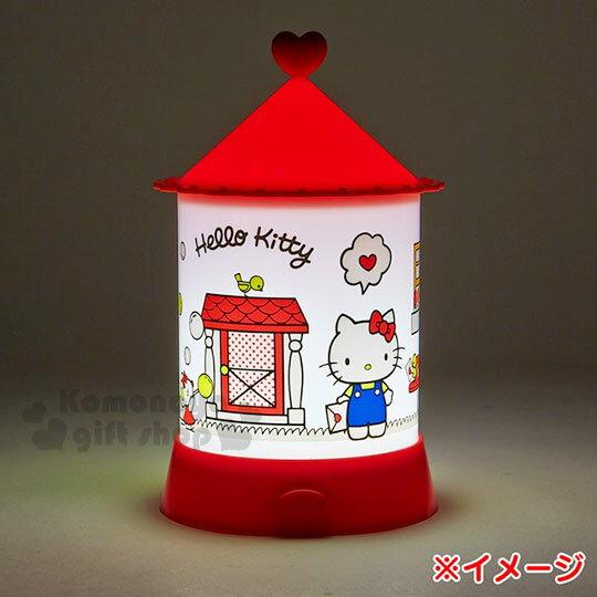 〔小禮堂〕Hello Kitty 造型夜燈《紅白.站姿.拿信.門外》 2
