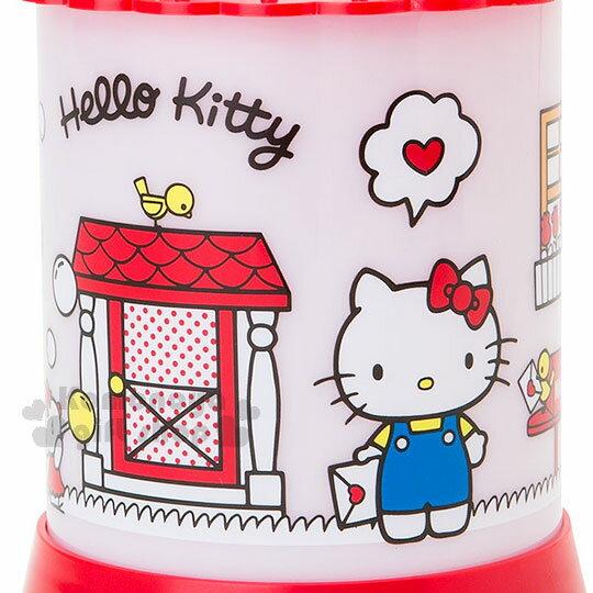 〔小禮堂〕Hello Kitty 造型夜燈《紅白.站姿.拿信.門外》 4