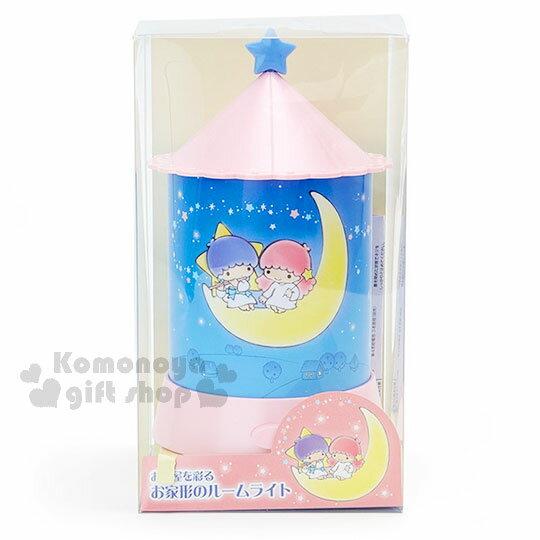 〔小禮堂〕雙子星 造型夜燈《粉藍.夜空.月亮.星光》 0
