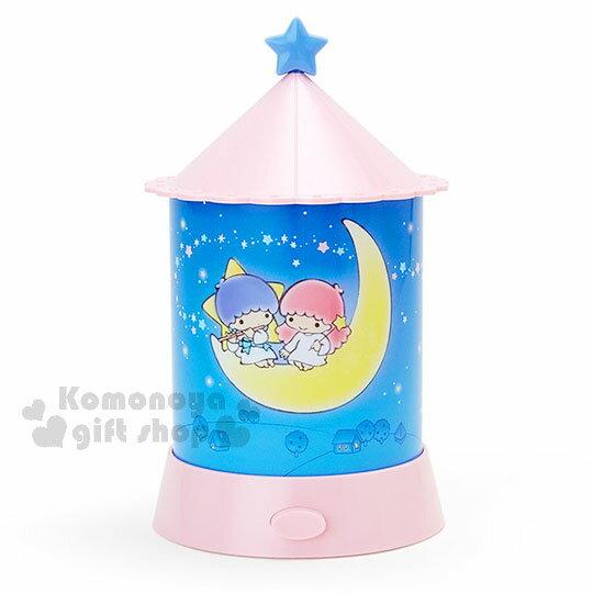 〔小禮堂〕雙子星 造型夜燈《粉藍.夜空.月亮.星光》 1
