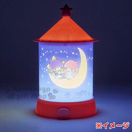 〔小禮堂〕雙子星 造型夜燈《粉藍.夜空.月亮.星光》 2