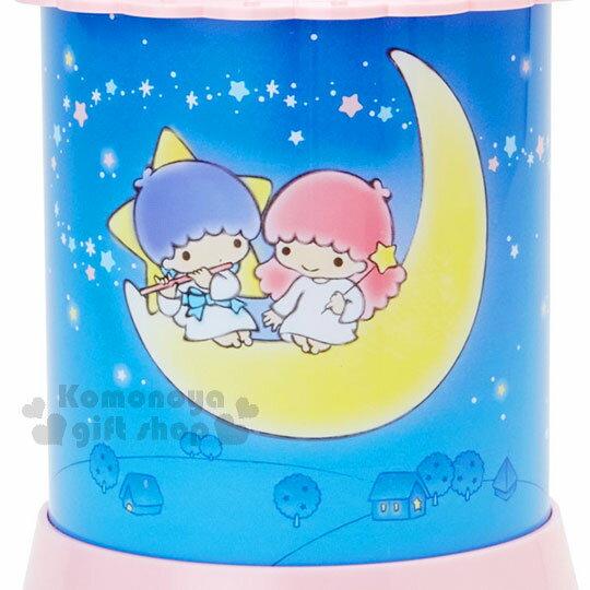 〔小禮堂〕雙子星 造型夜燈《粉藍.夜空.月亮.星光》 4