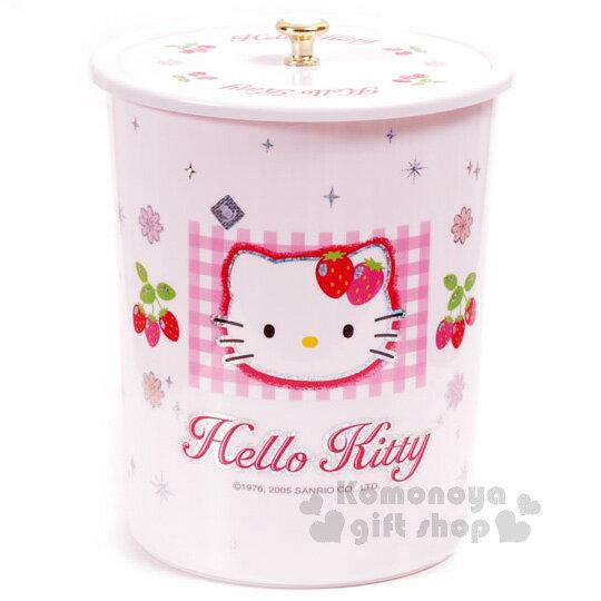 〔小禮堂韓國館〕HelloKitty拿蓋式垃圾筒《大.粉紅.草莓》輕鬆美化室內空間