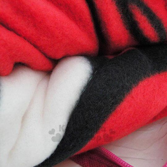【下殺799】Hello Kitty 毯被《紅.側坐.拿鉛筆.150x195cm》棉被.毛毯 2