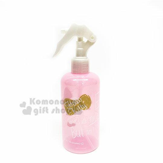 〔小禮堂〕Hello Kitty 噴霧罐《粉金.金蝴蝶結.洋裝.250ml》銅板小物 0