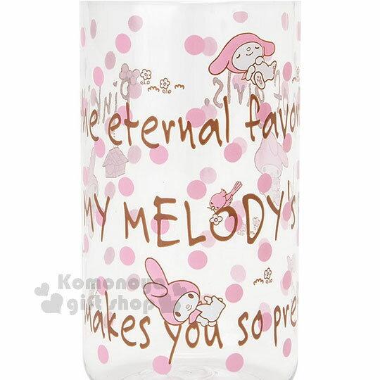 〔小禮堂〕美樂蒂 隨身冷水壺《嫩粉.點點.450ml》三麗鷗粉色系列 1